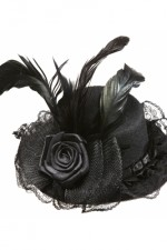 1420N Black mini hat