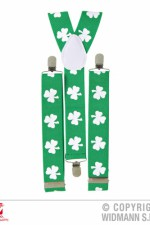 7995V St Patrick's Day Shamrock Braces