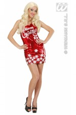 9450 Miss Santa sequin dress