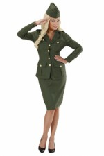 76592 WW2 Soldier Girl