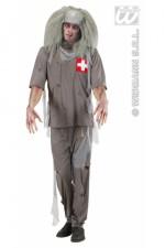 87172 Zombie Doctor Scrubs
