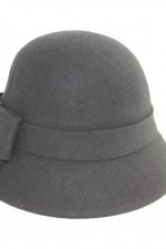Cloche hat – black