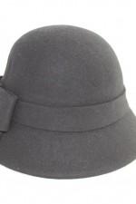 Cloche hat – black