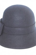 Cloche hat – navy