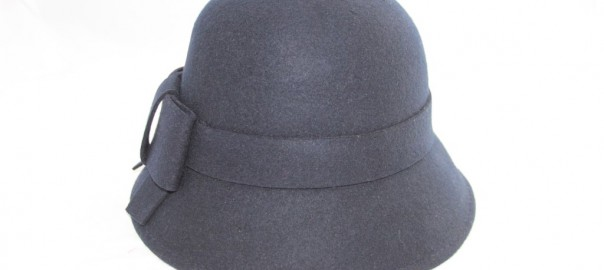 Cloche Navy Hat