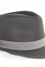 2-tone Trilby hat