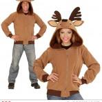 07018 Reindeer Hoodie