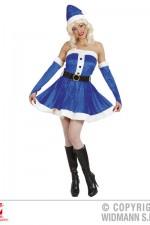 61201 Blue Miss Santa