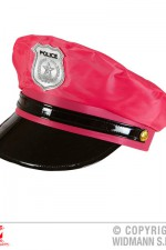 01098 Police hat – neon pink