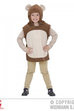 9295M Monkey Hooded Vest
