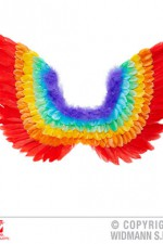00649 Rainbow Feather Wings