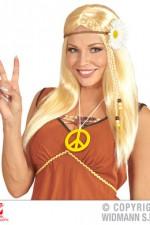 04656 Hippie wig with sunflower