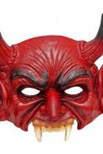 05392 Devil Latex Mask