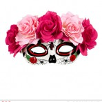 04783 Day Of The Dead Eyemask