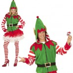 07038 Santa's Little Helper Elf Hoodie