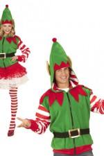 07038 Santa's Little Helper Elf Hoodie