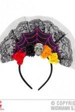 09641 Dia De Los Muertos Headpiece