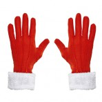 05385 Santa Claus Gloves