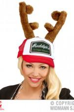 08169 Reindeer Horns Cap