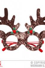 09657 Glitter Reindeer Glasses