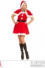 14962 Velvet & Plush Miss Santa