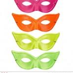 03619 Cat Eye Neon Eyemask