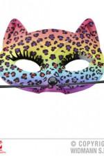 03648 Rainbow Leopard Eyemask