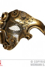 09647 Steampunk Half Face Mask
