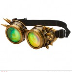 09661 Spiked Steampunk Goggles
