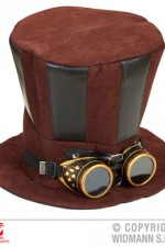 60813 Steampunk Top Hat with Goggles