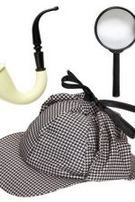 01155 Sherlock detective dress up