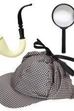 01155 Sherlock detective dress up