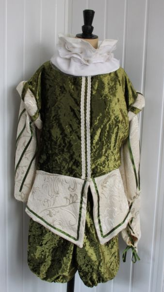 Tudor And Medieval Admiral Costumes