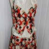 1970's diamond patterned 2 piece