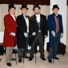 Frock coats and canes