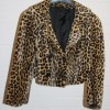 Leopard print buttoned jacket