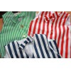 child size striped waistcoats