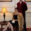 Burgundy velvet jacket