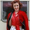 1950's skirt and velvet jacket