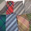 Tweed and wool ties